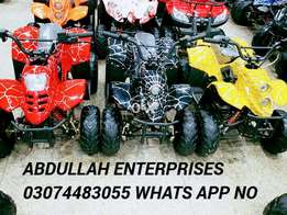 Two Front LED Lights model quad atv for sell in pakistan