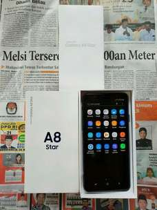 """Biss """"Soko Mas Cell"""" Ready Second Samsung Gal A8 Star 4/64 GB Black"""