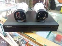 4 CCTV 1MP HD Cameras with Installation & Material in 16499