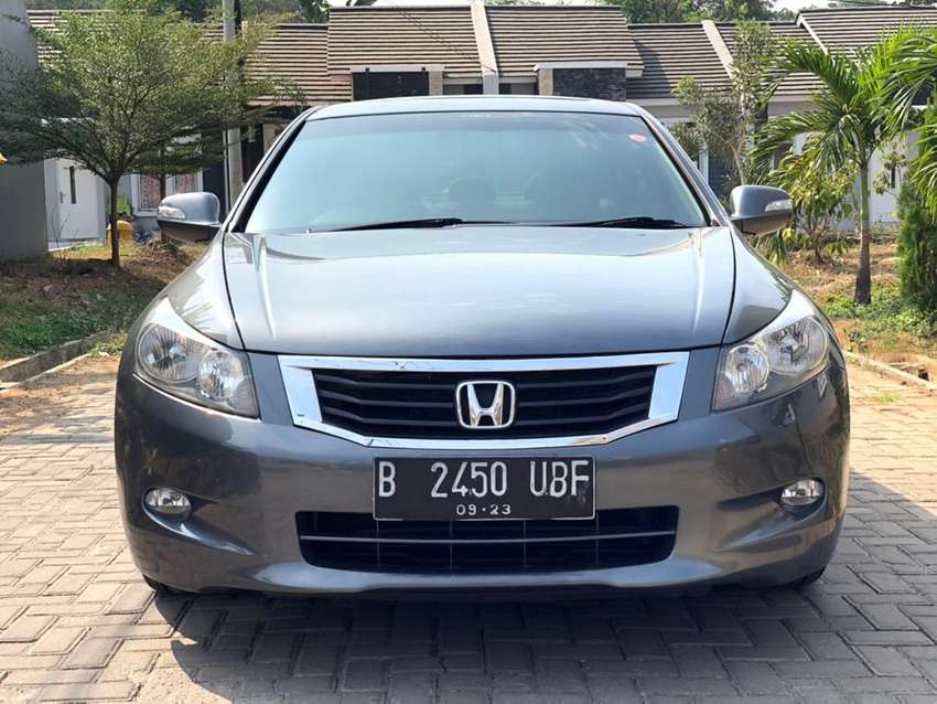 2008 Honda Accord V6 >> Honda Accord 3 5 Q V6 2008 At Mobil Bekas 756822985