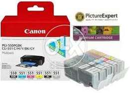 Canon PGI-550/CLI-551 Ink Cartridge Multipack