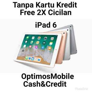 iPad 6-32gb Wifi Only Kredit-Promo ditoko ktp+kk Wa