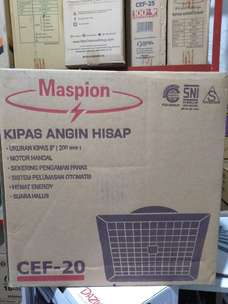 delivery ceiling exhaust fan kipas angin hisap maspion cef20