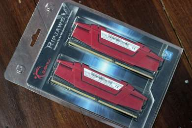 Gskill Ripjaws V Red 8GB (2x4GB) DDR4 | PC17000 | 2133Mhz Dual Channel