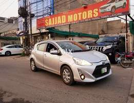 Toyota Aqua Model 2016 Reg 2018 Push Start Multimedia Cruise Control