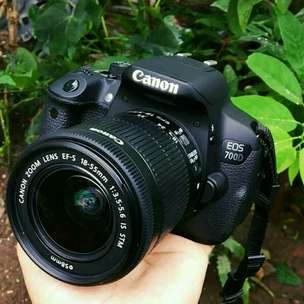 Canon eos 700D mulus ngedof Normal
