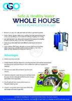 Whole House Water Treatment system OGO