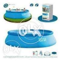 56417 intex (size:18ft/42inc) above ground easyset swimming pool set.
