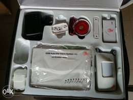 Security Alarm System with GSM Module