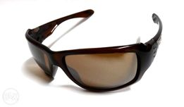 91af34872a AUTHENTIC Oakley Sunglasses Big Taco Rootbeer with Iridium OO917303