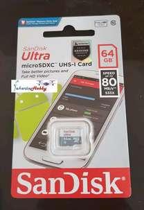 sandisk ultra micro sd 64gb microsdxc uhs-1speed 80mb/s