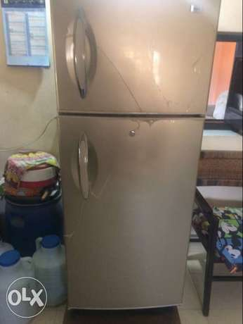 haier fridge used but in new condition