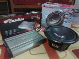 Complete pioneer sound system orignal brand new box pack