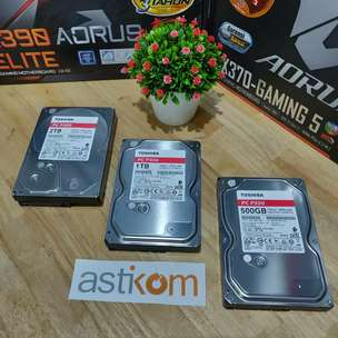 Harddisk PC Toshiba 500GB 3,5"
