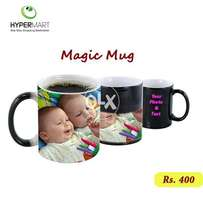 Personalized Magic Mug - Your Photo And Your Text