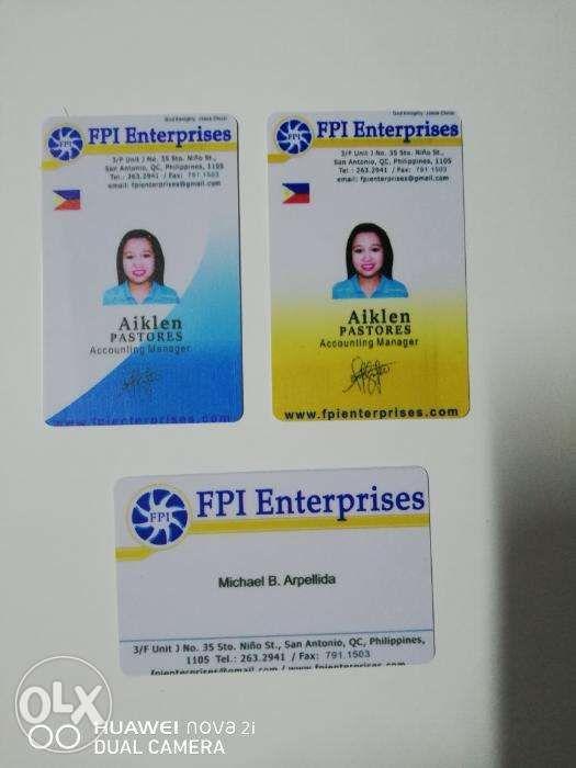 Id Pvc Printing Company Id Membership Id Pvc Printer In Quezon City