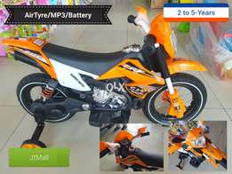 TrailBike Battery Operated Mp3 AirTyre