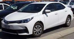 Toyota G.L.I 2018 Available for Rent