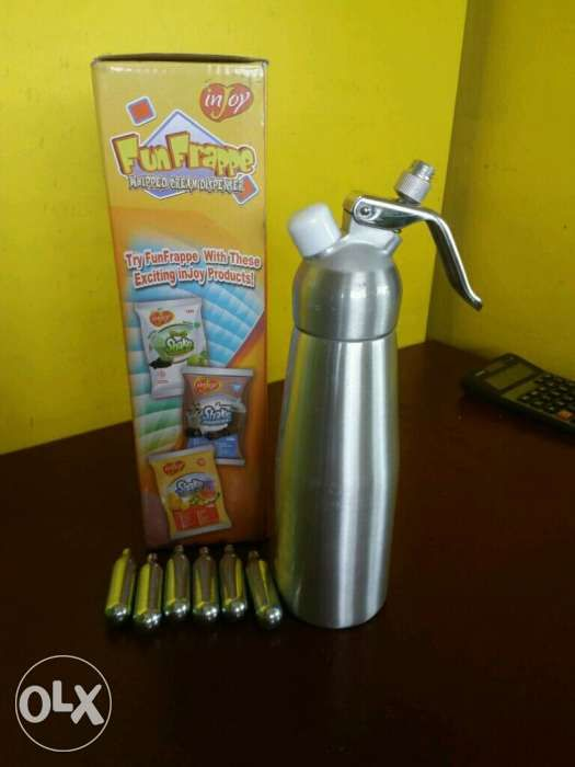bf744647df8336 Whip cream Dispenser for sale..Never been used in Meycauayan City ...