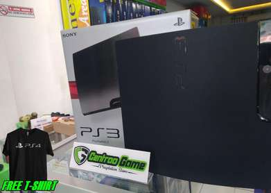 PS3 Slim Seri 25XX Bebas Request Game Hardisk 250GB Anti YLOD Ampuh