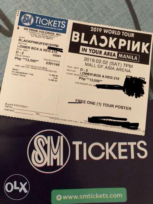 Blackpink Concert Ticket Price Philippines 2019