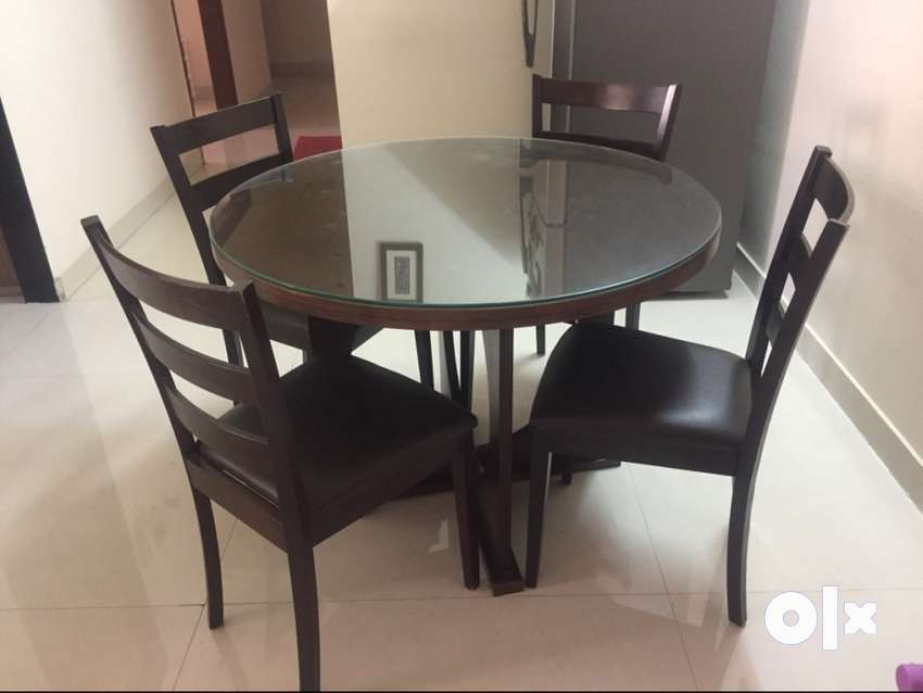 4 Seater Godrej Interio Dining Table For Sale Sofa Dining