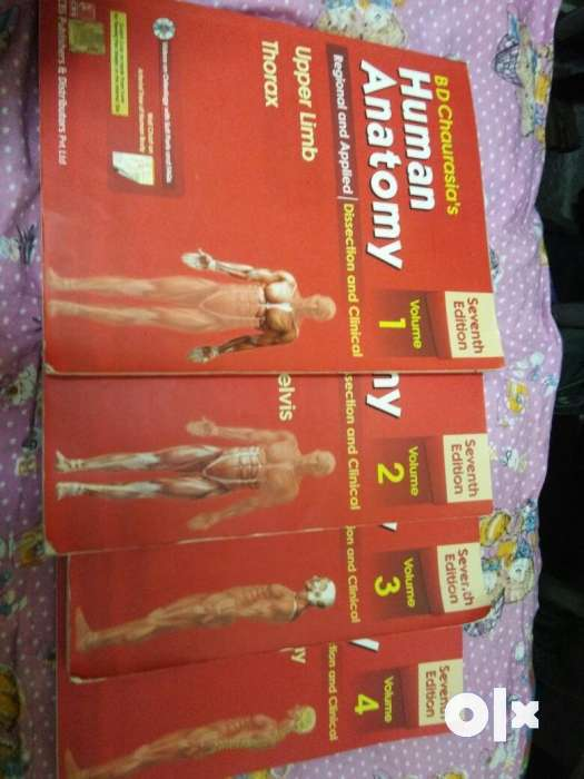 New Seventh Edition Bd Chaurasias Human Anatomy Puducherry