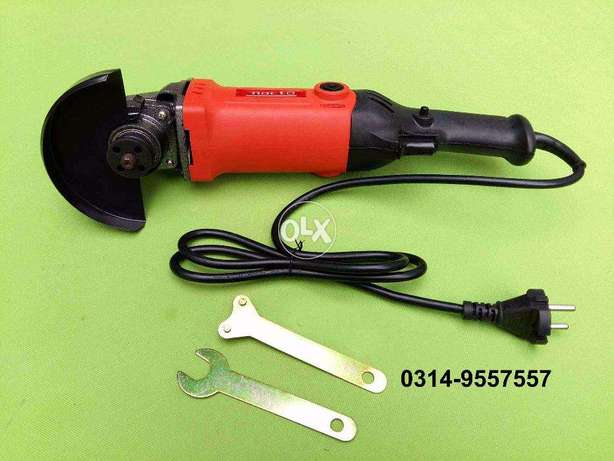 NEW Powerful Nacto 100mm Pure Copper 650w angle grinder angle cutter