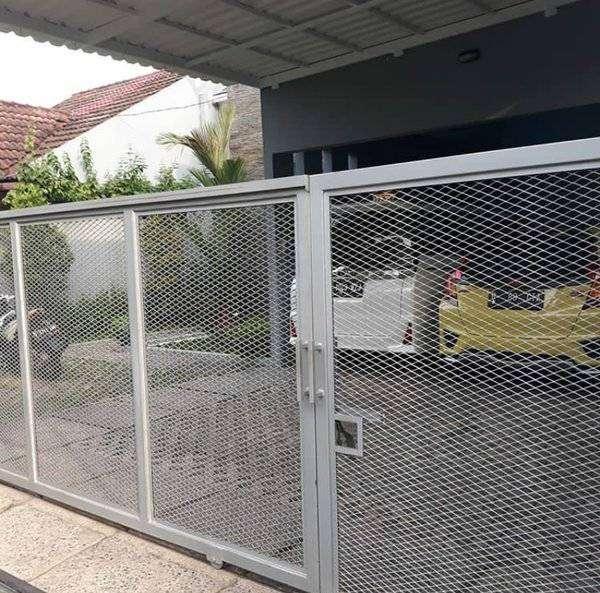 Pagar Wiremesh Plat Expanda Jaring Jaring Pagar Motif - Konstruksi Dan  Taman - 789750416