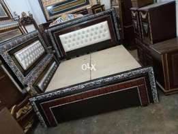 New double bed with poshish 000162