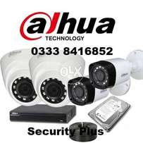 4 CCTV Cameras Complete Package 19500(No Hidden Charges)