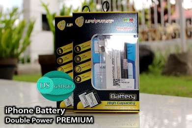 Baterai iPhone Double Power Garansi 2 Bulan