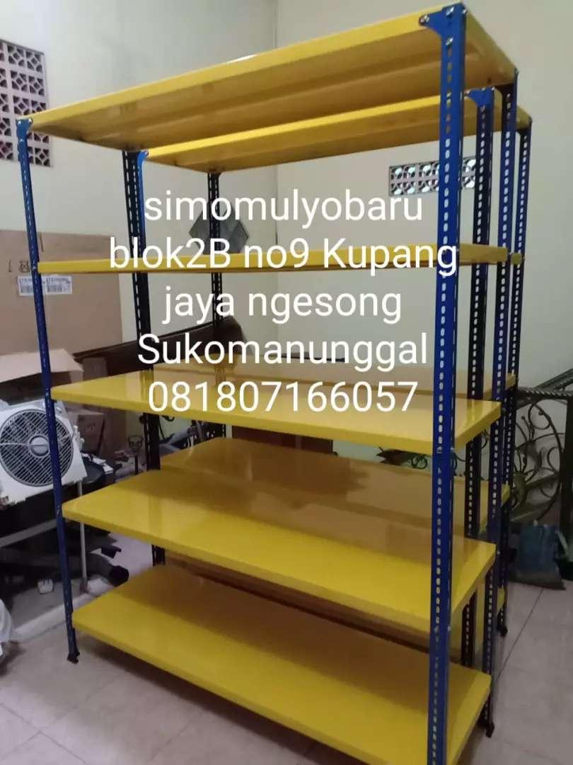 Rak Sepatu Rak Besi Siku Lubang Lain Lain 775349087