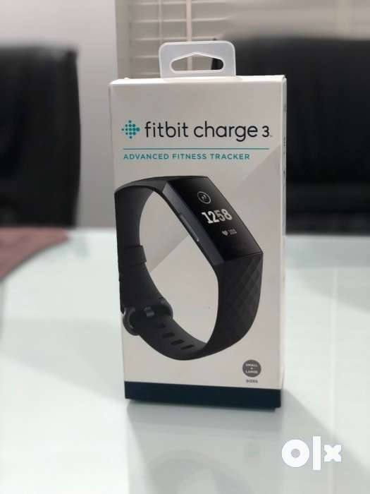 Fitbit charge 3 with box pack fix rate - Mobile Phones - 1320638403
