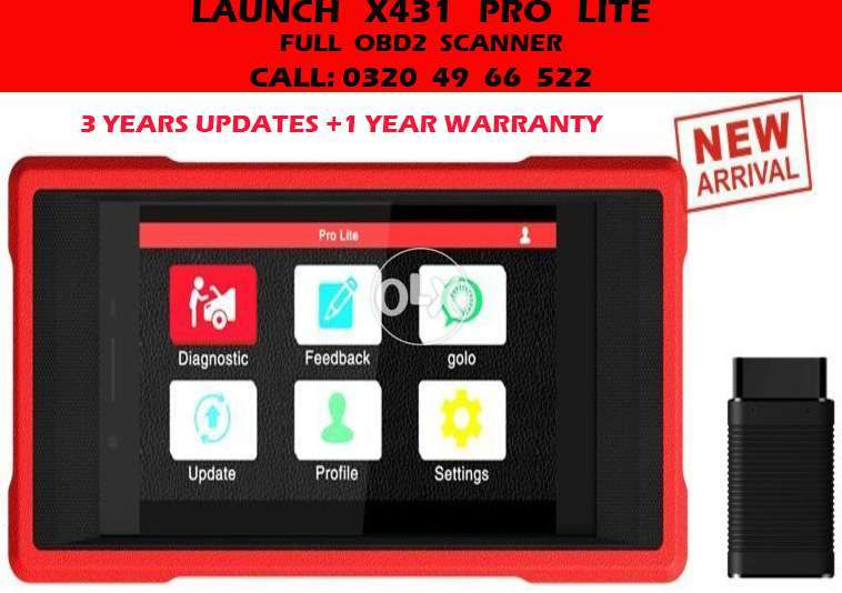 New Pro Lite 2018 Launch X431 Free 3 Years Updates Obd2 Car Scanner
