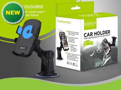 Hot Product > Robot CH01 Original Holder HP dan GPS Mobil Kudu Punya B