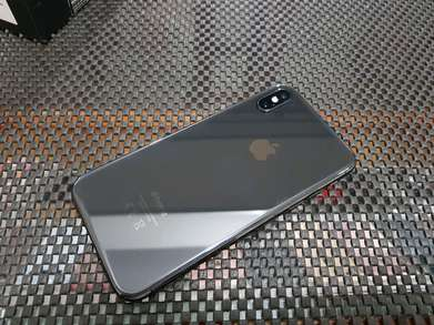 iPhone X 64GB Grey, Original, HP Charger Only, Mulus 98%, Normal