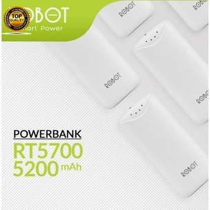 Ntaps>Powerbank Robot 5000Mh Murni Powerbank 320Md202