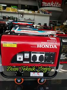 Genset HONDA SH 3000 EX out put 2200 Watt (DIAN TEKNIK JOGJA)