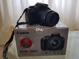 Canon EOS 1200D digital S LR camera and all accessories complete