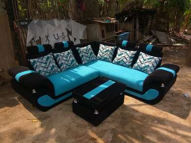 +Sofa L Simple Platinum+