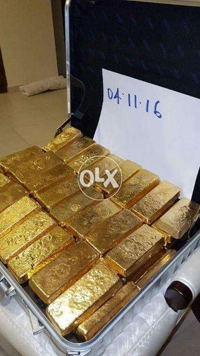 Au Gold Dore Bars for Sale 100 CIF/FOB Buyer's Refinery - Other