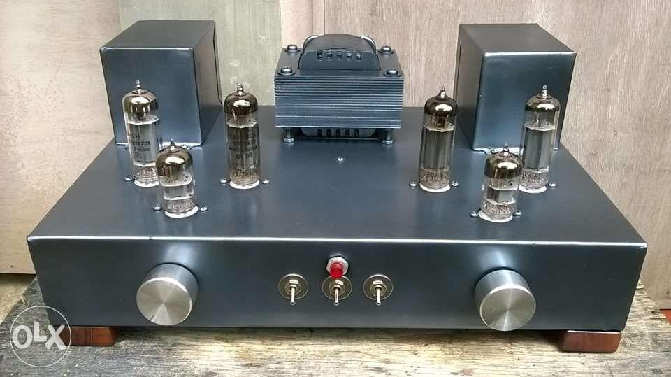 pushpull tube amplifier homemade ...