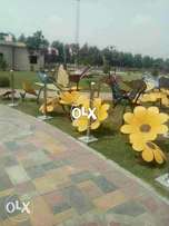 Bahria Orchard: 60 ft road Corner 8 marla possession plot H129