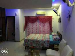 Studio apartment full furnished in height1 bahria town rwp