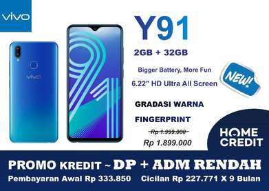 Vivo Y91 [2/32GB] ~ PROMO Kredit