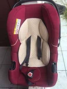 Carseat Mothercare Madrid Combination Red