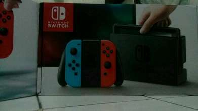 nintendo switch neon red blue