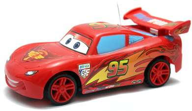 Remote Control Mobil The Cars Lightning McQueen Anak