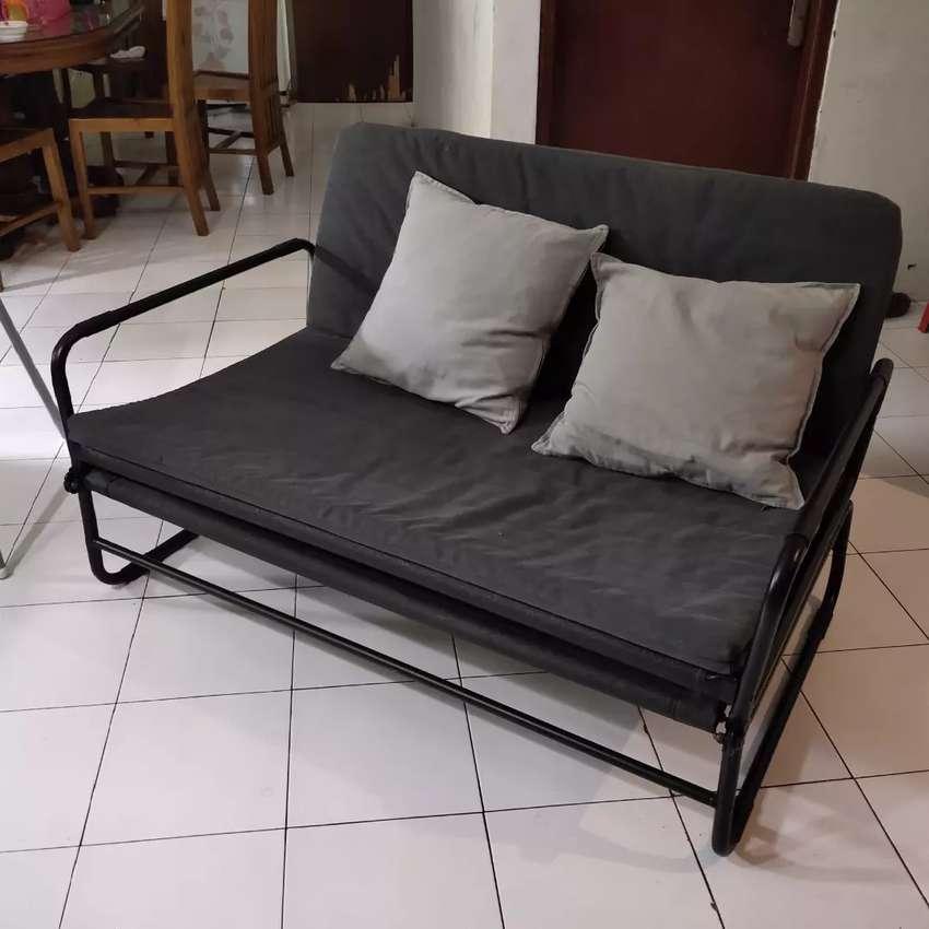 Sofa Bed Ikea Hammarn Mebel 767805587